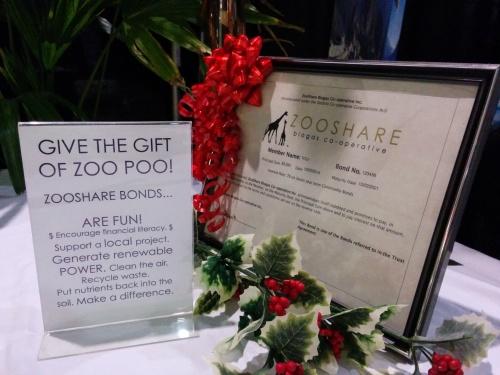 Photo of ZooShare bond