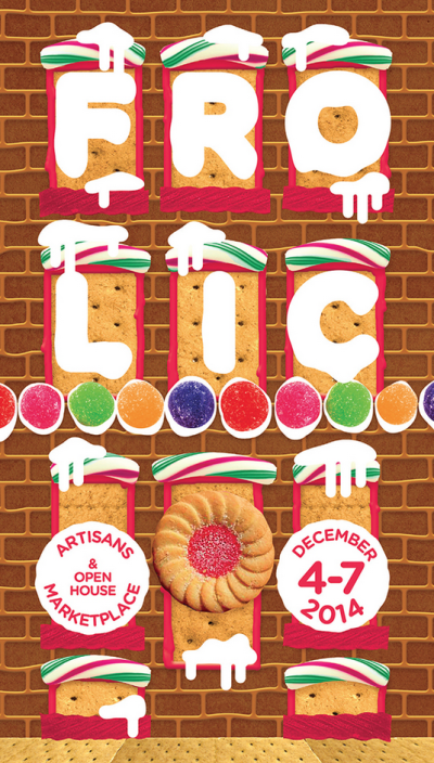 Frolic Artisans Marketplace December 4th to 7th poster