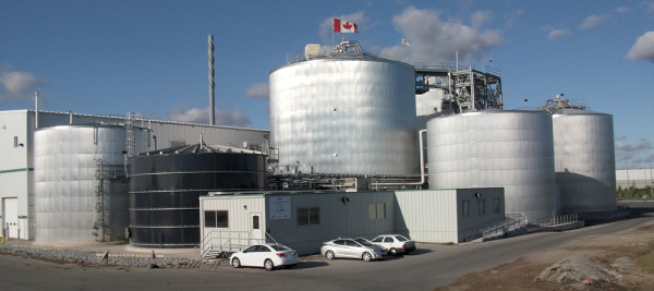 Toronto's Disco Rd. green bin processing facility