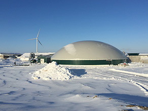 Eilers Farms - the first hog farm in Ontario with a biogas plant