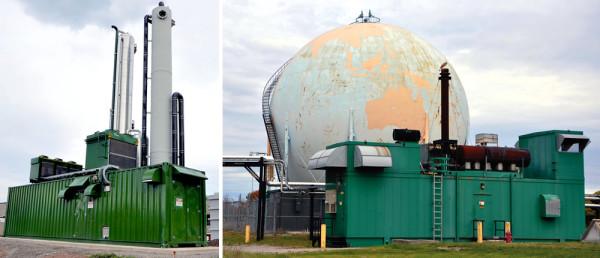 The Hamilton Wastewater Treatment Plant