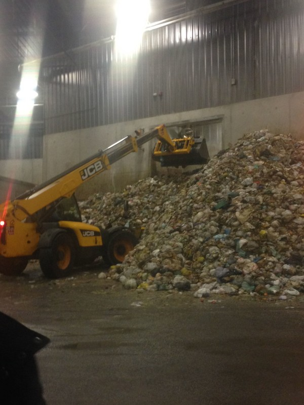 Toronto's green bin waste begins its journey from waste to biogas