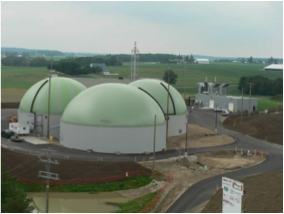 Bio-En's commercial biogas plant in Elmira